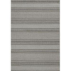 Terrace Gray Rectangular: 6 Ft. 7 In. x 9 Ft. 4 In. Rug