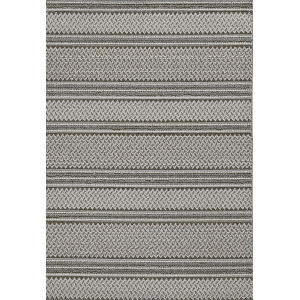 Terrace Gray Rectangular: 9 Ft. 6 In. x 12 Ft. 8 In. Rug