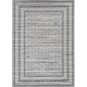 Terrace Gray Rectangular: 7 Ft. 10 In. x 10 Ft. 1 In. Rug