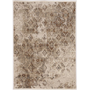 Westerly Illusions Sand Rectangular: 5 Ft. 3 In. x 7 Ft. 7 In. Area Rug