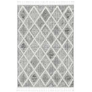 Willow Charcoal Rectangular: 3 Ft. 3 In. x 4 Ft. 11 In. Rug
