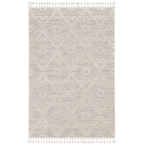 Willow Ivory Beige Rectangular: 5 Ft. 3 In. x 7 Ft. 7 In. Rug