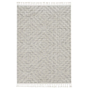 Willow Ivory Gray Rectangular: 7 Ft. 10 In. x 10 Ft. 10 In. Rug