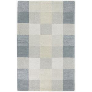 Eternity Seaside Checkerboard Rectangular: 27 in. x 45 in. Rug
