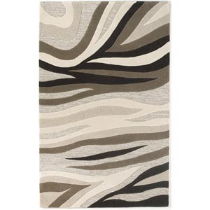 Eternity Natural Sandstorm Rectangular: 5 ft. x 8 ft. Rug
