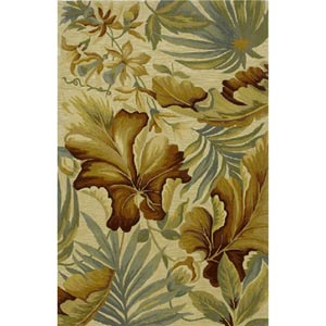 Sparta Ivory Paradise Rectangular: 5 ft. 3 in. x 8 ft. 3 in. Rug