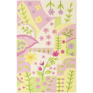 Kidding Around Princess Dreams Rectangle: 5 Ft. x 7 Ft. 6 In. Rug
