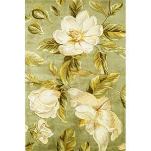 Catalina Sage Magnolia Rectangle: 5 Ft. x 8 Ft. Rug