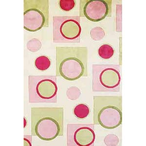 Signature Pink Fizz Rectangle: 2 Ft. 6 In. x 4 Ft. 6 In. Rug