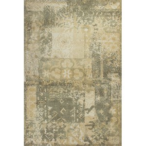 Allure Sage and Gold Vintage Runner: 2 Ft. 3 In. x 7 Ft. 6 In. Rug