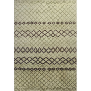 Amore Ivory Horizons Rectangular: 5 Ft. x 7 Ft. 6 In. Rug