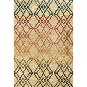 Barcelona Sand Moderne Rectangular: 2 Ft. 7 In. x 4 Ft. 11 In. Rug