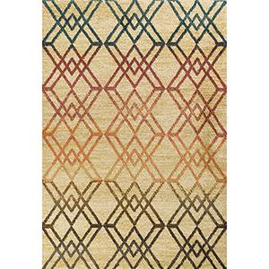 Barcelona Sand Moderne Rectangular: 5 Ft. 3 In. x 7 Ft. 7 In. Rug