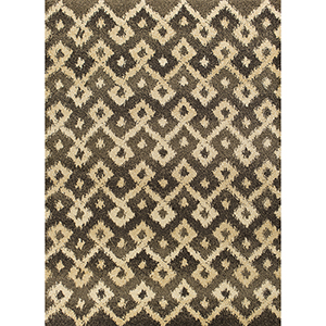 Barcelona Grey and Sand Villa Rectangular: 2 Ft. 7 In. x 4 Ft. 11 In. Rug
