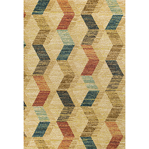 Barcelona Sand Montego Rectangular: 2 Ft. 7 In. x 4 Ft. 11 In. Rug