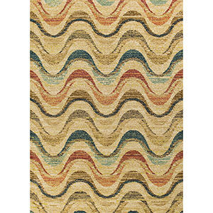 Barcelona Sand Isla Rectangular: 7 Ft. 10 In. x 11 Ft. 2 In. Rug