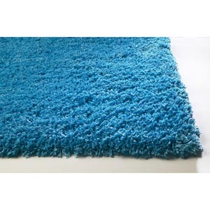 Bliss Highlighter Blue Rectangular: 5 ft. x 7 ft. Rug