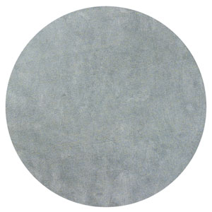 Bliss Blue Heather Round: 8 Ft. Rug