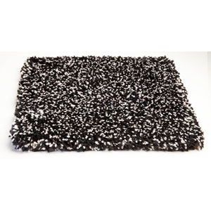 Bliss Black Heather Rectangular: 5 Ft. X 7 Ft.  Rug