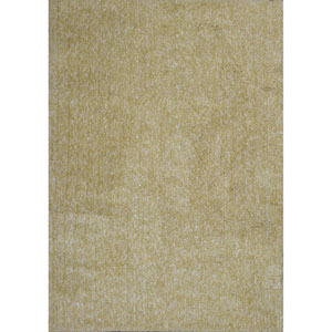 Bliss Yellow Heather Rectangular: 27-Inch X 45-Inch Rug