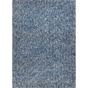 Bliss Indigo and Ivory Heather Runner: 2 Ft. 3 In. x 7 Ft. 6 In. Rug