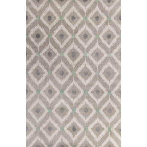 Bob Mackie Home Gray Rectangular: 3 Ft. 3-Inch x 5 Ft. 3-Inch Rug