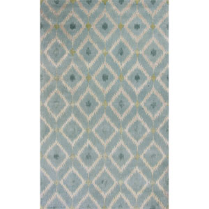 Bob Mackie Home Blue Rectangular: 3 Ft. 3-Inch x 5 Ft. 3-Inch Rug