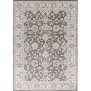 Chandler Charcoal and Ivory Rectangular: 3 Ft. 3-Inch x 4 Ft. 11-Inch Rug