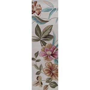 Coral Sand Runner: 2 Ft. 3-Inch x 7 Ft. 6-Inch Rug