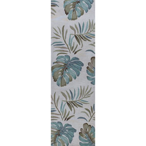 Coral Ivory Runner: 2 Ft. 3-Inch x 7 Ft. 6-Inch Rug