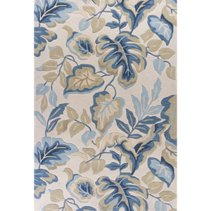 Coral Ivory Rectangular: 3 Ft. 3-Inch x 5 Ft. 3-Inch Rug