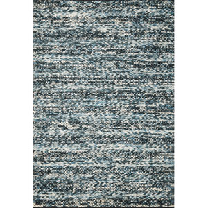 Cortico Blue  Heather Rectangular: 7 Ft. 6 In. x 9 Ft. 6 In.  Rug