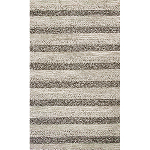 Cortico Grey and White Landscape Rectangular: 9 Ft. x 13 Ft. Rug
