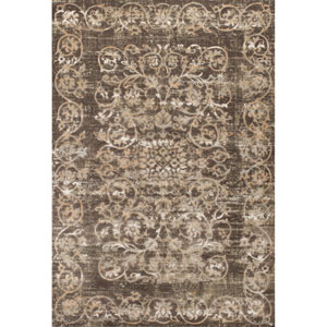 Crete Taupe Rectangular: 3 Ft. 3-Inch x 4 Ft. 7-Inch Rug