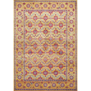 Dreamweaver Golden Sunrise Rectangular: 3 Ft. 3 In. x 4 Ft. 11 In. Rug