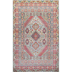 Dreamweaver Multicolor Traditions Rectangular: 3 Ft. 3 In. x 4 Ft. 11 In. Rug
