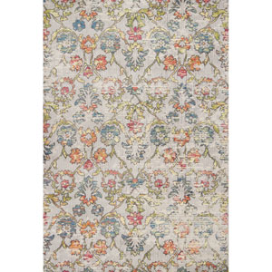 Dreamweaver Grey Delaney Rectangular: 3 Ft. 3 In. x 4 Ft. 11 In. Rug