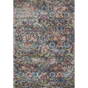 Dreamweaver Charcoal Delaney Rectangular: 3 Ft. 3 In. x 4 Ft. 11 In. Rug