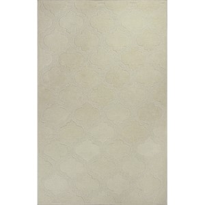 Eternity Ivory Arabesque Runner: 2 Ft. 3 In. x 7 Ft. 6 In. Rug