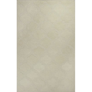Eternity Ivory Arabesque Rectangular: 5 Ft. x 8 Ft. Rug