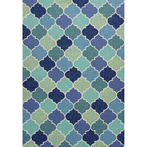 Harbor Blue Round: 7 Ft. 6 In. Rug