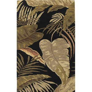 Havana Mocha Rainforest Rectangular: 5 ft. x 8 ft. Rug