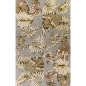 Havana Slate and Green Rectangular: 2 Ft. 6-Inch x 4 Ft. Rug