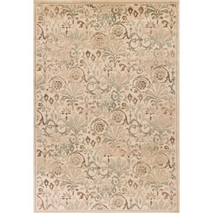 Heritage Ivory Rectangular: 3 Ft. 3-Inch x 4 Ft. 11-Inch Rug