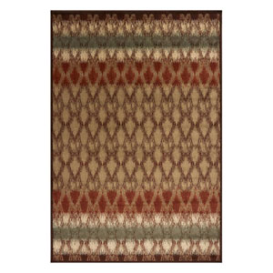 Heritage Sand Horizon Rectangular: 3 Ft. 3 In. x 4 Ft. 11 In. Rug