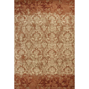 Heritage Rust Delaney Rectangular: 3 Ft. 3 In. x 4 Ft. 11 In. Rug