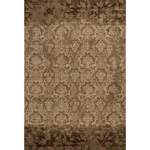Heritage Olive Delaney Rectangular: 3 Ft. 3 In. x 4 Ft. 11 In. Rug