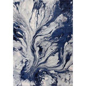 Illusions Blue Rectangular: 9 Ft. 10 In. x 13 Ft. 2 In. Rug