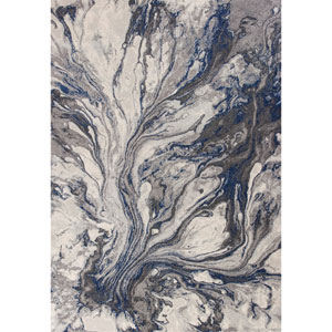 Illusions Grey Rectangular: 3 Ft. 3 In. x 4 Ft. 11 In. Rug