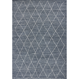 Landscapes Blue Boho Rectangular: 3 Ft. 3 In. X 5 Ft. 3 In. Rug